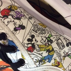 Disney Shoes - Mickey Mouse Disney Comic Book Athletic Shoes